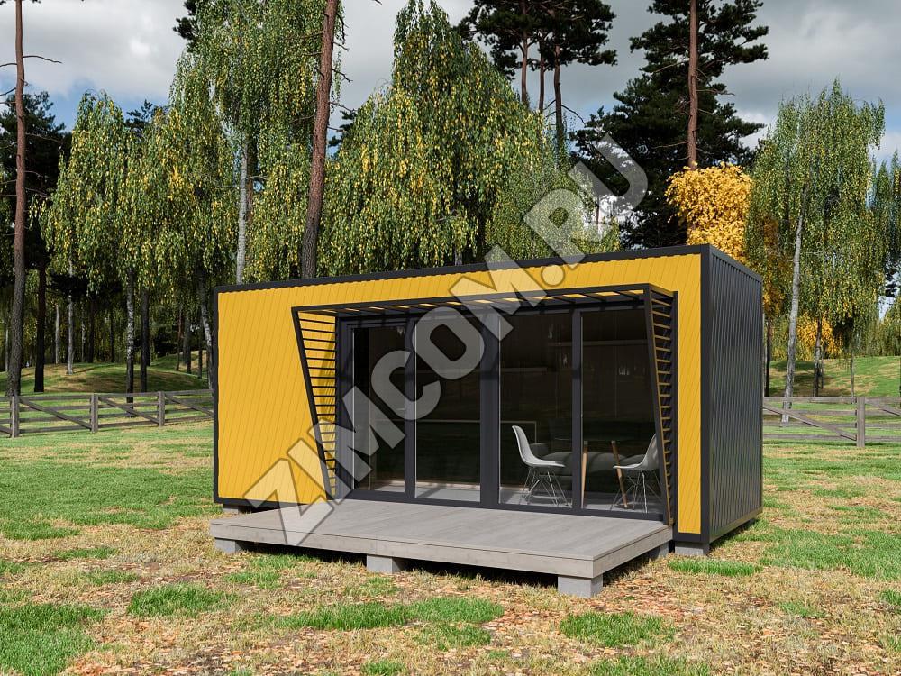 Дачный модульный дом