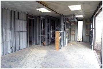 фото строительства вагона-дома